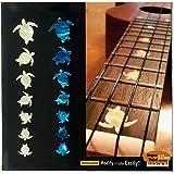 Ukulele-Fretboard Markers Inlay Sticker - Turtles Honu SET
