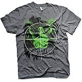 Officially Licensed Predator Crosshair Mens T-Shirt (Dark-Heather)