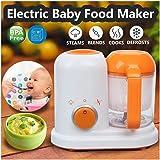Electric Baby Food Maker All in One Toddler Blenders Steamer Processor Free Food-Graded PP EU AC 200-250V Steam Food Safe jsm