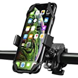 Bike Mount, Insten Bicycle Motorcycle MTB Bike Rack Handlebar Mount Phone Holder Cradle W/Secure Grip for iPhone 11/11 Pro /