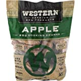 Western Apple Smoking Wood Chunks - Made in The USA, Brown, 549 cu in (Pack of 1)