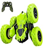 Remote Control Car, Apsung RC Stunt Car,4WD Rechargeable 2.4Ghz Remote Control Car, Double Sided Rotating Tumbling 360°Flips