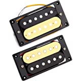Metallor Zebra Humbucker Pickup Double Coil Ceramic Magnet Pickup Electric Guitar Parts Replacement Neck and Bridge Pickup Se