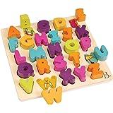 B. toys 木製アルファベットパズル 型はめブロック BX1823GZ 正規品