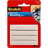 Scotch Removable Mounting Putty, 2 oz, Colors May Vary