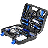 120-Piece Home Repair Tool Set, PROSTORMER General Household DIY Tool Kit with Tool Box Storage Case for House, Office, Dorm