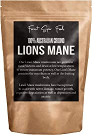 Australian Dried Lions Mane Medicinal Mushroom (Includes mycelium) - 30 day supply