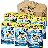 【ケース販売】アタック 抗菌EX スーパークリアジェル 洗濯洗剤 液体 詰め替え 大容量 1.6kg×6個