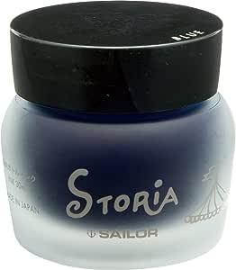 セーラー万年筆 万年筆 顔料ボトルインク ストーリア 30ml ブルー 131502240