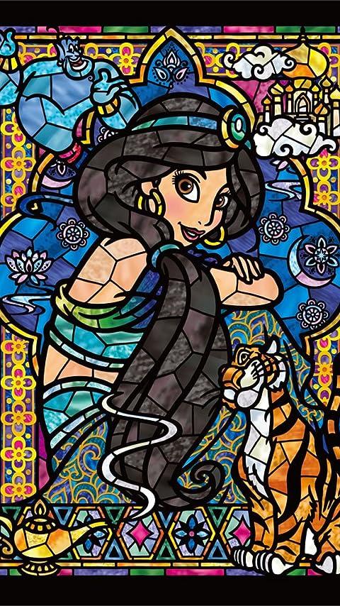 ディズニー ジャスミン ステンドグラス XFVGA(480×854)壁紙 画像44217 スマポ