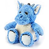 Warmies Plush Heat Up Microwavable Soft Cuddly Toys With A Lavender Scent, Dragon Blue