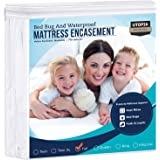 Utopia Bedding Zippered Mattress Encasement - Bed Bug Proof, Dust Mite Proof Mattress Cover - Waterproof Mattress Protecter (