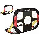 Kidodo Soccer Goal for Backyard Kids Soccer Goals Soccer Goals for Kids pop up Soccer Goal net for Toddler Goal net Targets P