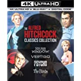 Alfred Hitchcock Classics Collection (4K Ultra Hd/Blu-Ray/Digital)