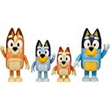 Bluey Family 4 Pack Figurines Preschool