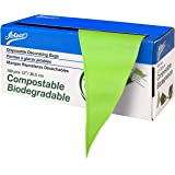 Ateco Compostable and Disposable Cake Decorating Bags, 12-Inch, Biodegradable Green
