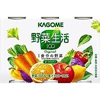カゴメ 野菜生活100 オリジナル (190g×6缶)×5パック