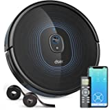 Robot Vacuum, dser 23T 2200Pa Robotic Vacuum Cleaner, Wi-Fi Connected, 2 Boundary Strips, Self-Charging, Multiple Cleaning Mo