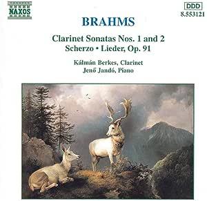 Clarinet Sonatas 1 & 2