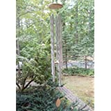 """ktopnob Big Extra Large Wind Chime Outdoor 57"""" Deep Tone Tuned Resonant Bass Sound Church Bell Windchimes Unique - Ideal for"""