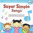スーパーシンプルラーニング(Super Simple Learning) スーパーシンプルソングス 3 第2版 CD 2枚セット 子ども えいご