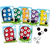 Learning Resources LER1764 10 on the Spot! Ten-Frame Game,Multi-color