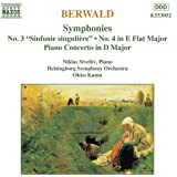 Symphonies Nos. 3 4 Piano