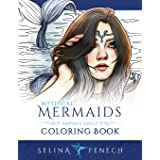 Mythical Mermaids - Fantasy Adult Coloring Book: 8