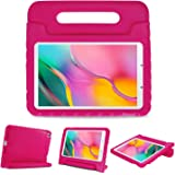 ProCase Kids Case for Galaxy Tab A 8.0 2019, Shockproof Convertible Handle Stand Cover Light Weight Kids Friendly Super Prote
