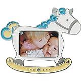 ラドンナ フォトフレーム ベビー 木馬 サイズ:約W14.6 H12.2 MB72-S2