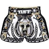 Tuff Retro Muay Thai Boxing Shorts Martial Arts Clothing Training Gym Trunks Classic Slim Cut