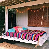 Eccbox 84 X 59 Inch Large Mexican Serape Blanket with Assorted Bright Colors Mexican Tablecloth for Mexican Wedding Party Dec
