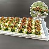 草むら(緑・花つき) ジオラマ用素材 草花シリーズ 10mm 情景コレクション グラス模型 建物モデル 装飾 風景 箱庭…