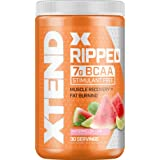 Scivation XTEND Ripped BCAA Powder Watermelon Lime | Cutting Formula + Sugar Free Post Workout Muscle Recovery Drink with Ami