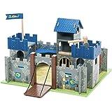 Le Toy Van Castle Playset, Excalibur Castle Premium Wooden Toys for Kids Ages 3 Years & Up
