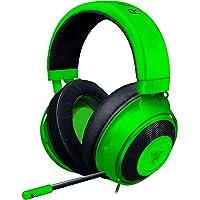Razer Kraken Green ゲーミングヘッドセット + THX USBオーディオコントローラー 3.5mm/USB 7.1 立體音響対応 PC 冷卻パッド 【日本正規代理店保証品】