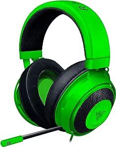 Razer Kraken Green ゲーミングヘッドセット + THX USBオーディオコントローラー 3.5mm/USB 7.1 立体音響対応 PC 冷却パッド 【日本正規代理店保証品】