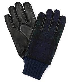 Infielder Design Sheep Leather Harris Tweed Glove 1437-599-1020: 2