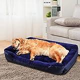 PaWz Pet Bed Mattress Dog Cat Pad Mat Cushion Soft Winter Warm 2X Large Blue XXL in Blue
