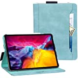 iPad Pro 11 ケース 2020 iPad pro 11 2020 ケース Toplive 高級PUレザー スタンド機能 オートスリープ機能 カードポケット付き Apple Pencil収納可 手帳型 薄型 耐衝撃 全面保護 iPad Pro