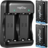 Rapthor 2500mAh Xbox One Rechargeable Battery Pack 2.4V Ni-MH Low Self Discharge for Xbox One/Xbox One S/Xbox One X/Xbox One