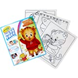 Crayola 75-2392 Color Wonder, Daniel Tiger's Neighborhood, 18 Mess Free Coloring Pages,  Age 3, 4, 5, 6
