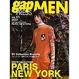 2021 S/S gap PRESS MEN vol.61 PARIS/NEW YORK (gap PRESS Collections)