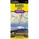 National Geographic Adventure Map Ecuador / Galapagos Island…