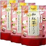 国産茶葉100% 無農薬 和紅茶ティーバッグ(2g×15)×3個セット 水出し可 茶の蔵