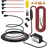 15ft Micro USB & Mini USB Dash Cam &Type-C Hardwire Kit w. Mini(ACS)/LP Mini(ACN)/ATO(ATC or ACU)/Micro2(ACZ) Fuse, Micro to