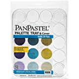 PanPastel PP35020 Palette, Tray with Lid, 20 Colours, White, 22x30 in