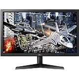 LG Ultragear 24GL600F-B 24 Inch FHD Gaming Monitor, 1ms (MBR), 144 Hz, HDMI, Radeon FreeSync, Black