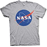 NASA Officially Licensed Insignia Mens T-Shirt (Heather-Grey)