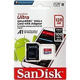 microSDXC 128GB SanDisk アプリ最適化 A1対応 サンディスク UHS-1 超高速U1 専用 SDアダプター付 [並行輸入品]